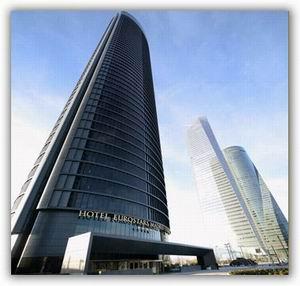 Eurostars Madrid Tower Luxury 5 Star Gl Hotel In Madrid