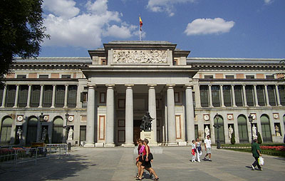 The Prado Museum in Madrid, Spain