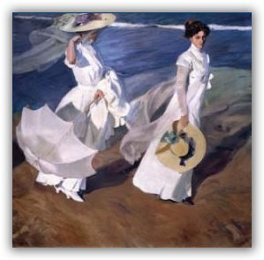 Museo Sorolla Madrid.The Sorolla Museum In Madrid Spain