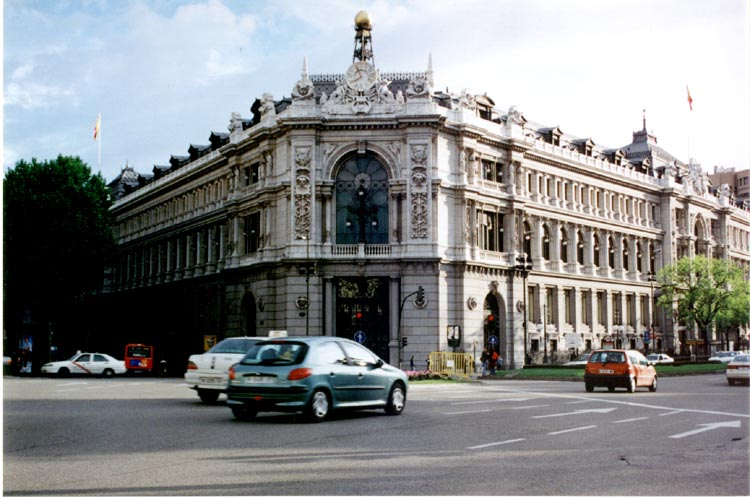 Banco De Espa 241 A Headquarters Of The National Bank Of Spain