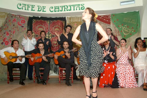 Flamenco in the Cafe de Chinitas