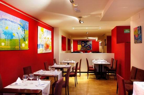 Restaurante cornucopia restaurante moderno en madrid for Cocina de restaurante