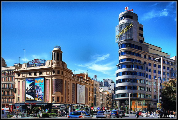 The Plaza Callao square
