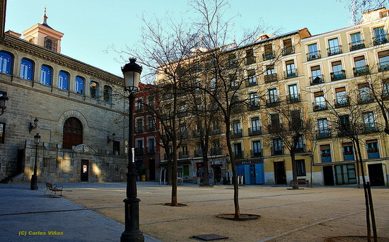 la plaza de la paja in madrid