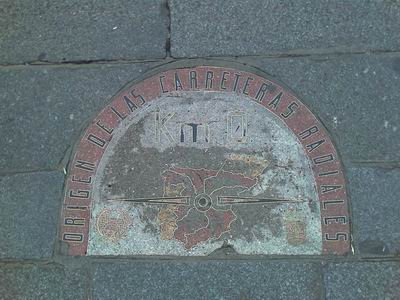 Kilometre 0, Puerta del Sol