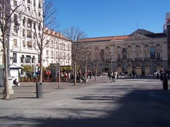 Plaza Santa Ana Square Madrid Spain