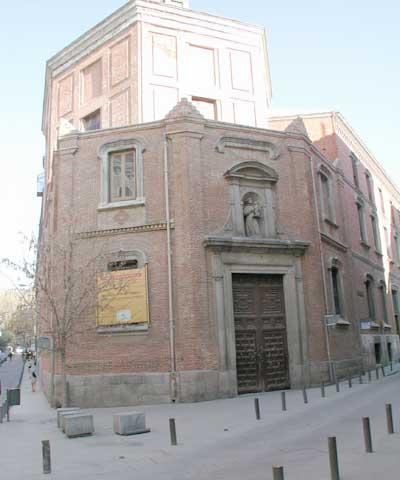 Church Of San Antonio De Los Alemanes In Madrid