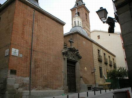 The San Nicolas de los Servitas Church in Madrid